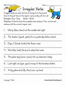 english verbs worksheets resources