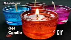 candele gel diy how to make gel candles jk arts 1089