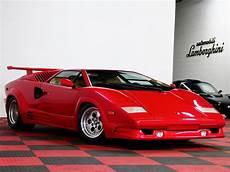 1989 Lamborghini Countach 25th Anniversary Edition