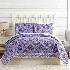 vera bradley 174 purple quilt in purple bed bath beyond