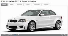 Build Your Own 2011 Bmw 1 Series M Coupe Configurator Live