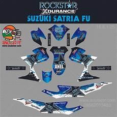Stiker Motor Satria Fu by Jual Sticker Striping Motor Stiker Suzuki Satria Fu
