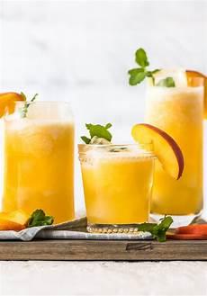 peach lemonade easy peach drinks alcoholic or mocktail