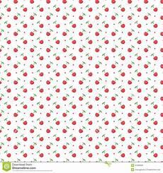 Nahtloses Muster Mit Punkten Und Kirschen Vektor Abbildung