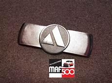 fregio anteriore in metallo cromato autobianchi fiat 500