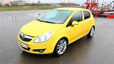 2008 opel corsa start up engine and in depth tour