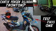 X Ride Modif Touring by Test Ride Yamaha X Ride Modifikasi Touring Edition