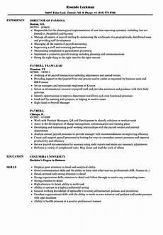 global payroll manager cv june 2020
