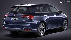Fiat Tipo Station Wagon 2017 3d Model From Creativecrash