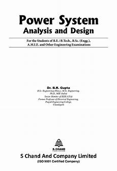download power system analysis and design by dr b r