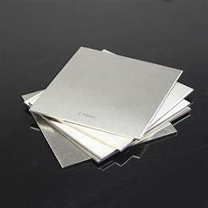 1pcs 304 stainless steel fine polished plate sheet 2mm 100mm 100mm ebay