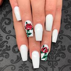 awesome white acrylic nails naildesignsjournal com