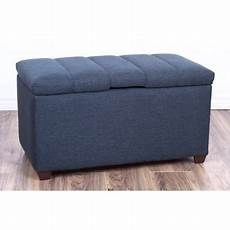 the crew furniture 174 upholstered bedroom storage ottoman bench 991910 walmart com