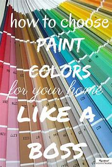how to choose paint colors for your home like a boss