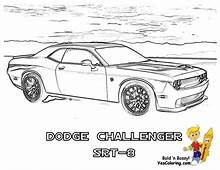 Free Dodge Charger Car Coloring Pages Download Clip