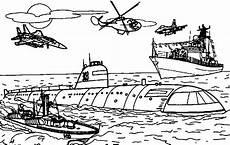 Ausmalbilder Polizeischiff U Boote