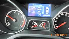Ford Focus St 0 100 - new ford focus st acceleration 0 100 100 200kmh