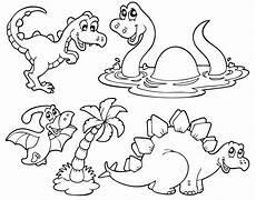 Malvorlagen Dinosaurier Kostenlos Kostenlose Malvorlage Dinosaurier Und Steinzeit