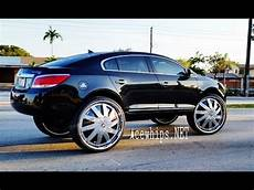 acewhips net black buick lacrosse 32 quot dub floaters by wtw youtube