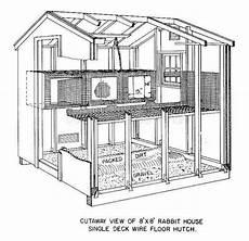 rabbit housing plans pin on 1 rabbit area