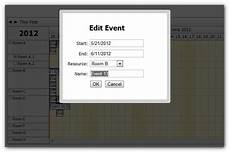 how to show event details in a modal dialog modal js knowledge base for daypilot ajax