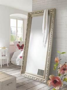 Spiegel Wandspiegel Mit Kunstvollem Silberrahmen Spiegel