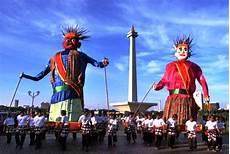 Ondel Ondel Manggar Jadi Ornamen Betawi Portal Berita