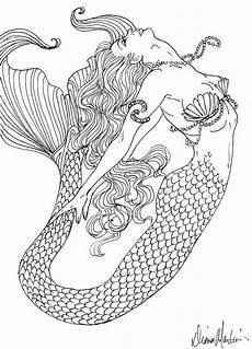 Malvorlagen Mit Meerjungfrauen Pin Jollyroger Auf Meerjungfrauen Realistische