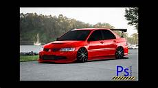 tuning photoshop mitsubishi lancer evolution iii