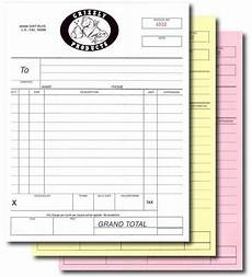 custom print a5 145x210mm invoice receipt book work order 2 5 part copy sets numbered receipt