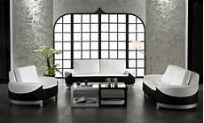 moderne wohnzimmer schwarz weiss white and black leather 3 modern living room set 0893