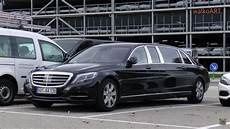 mercedes maybach s600 pullman shows mercedes maybach s600 pullman test vehicle in