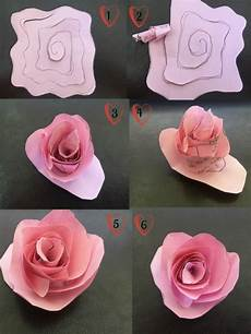 Papierblumen Basteln Anleitung - flower twisting craft tutorial and easy icraft
