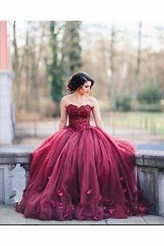 Burgundy Wedding Gowns lace sweetheart burgundy wedding dresses bridal gowns 3030227