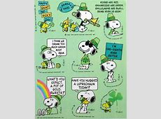 st patrick's day snoopy images
