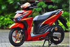Skotlet Vario 150 by 28 Top Terbaru Modifikasi Skotlet Vario 150 Warna Hitam