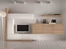 parete soggiorno componibile soggiorno moderno componibile con finitura in legno