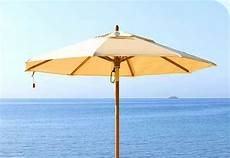 Sonnenschirm Holz 4m - holz schirme sonnenschirme sonnenschirme