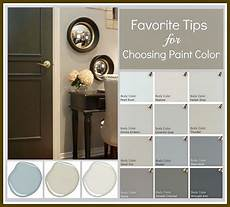 tips and tricks for choosing the paint color