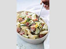 tomato cucumber macaroni salad_image