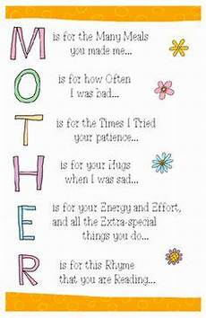 s day printable cards and poems 20492 s day poem free to create a poster for students to read mothers day poems