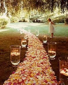 do it yourself weddings diy aisle and altar flowers