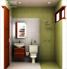 Desain Kamar Mandi Minimalis 1 5 X 1 5 Arsitekhom