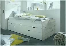 Bett Mit Stauraum Weiß - bett 90x200 weiss mit stauraum