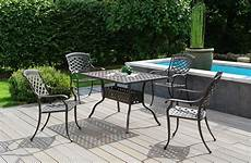 gartenmöbel aus aluminium inko sessel aluguss bronze als gruppe eine aluminium