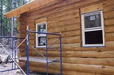 cabine installation rebuilding titcomb cabin