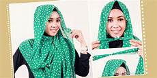 Aynhund O Cara Memakai Jilbab Pashmina Chiffon Dalam