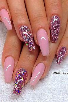 the 25 best pink nails ideas on pinterest pink glitter