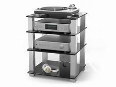 hifi racks hifi rack high end hsl614 bg schwarzglas hifi racks