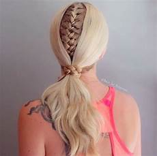fall s hairstyle the braided ponytail well good